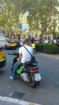 Green Electric Moto: Bike