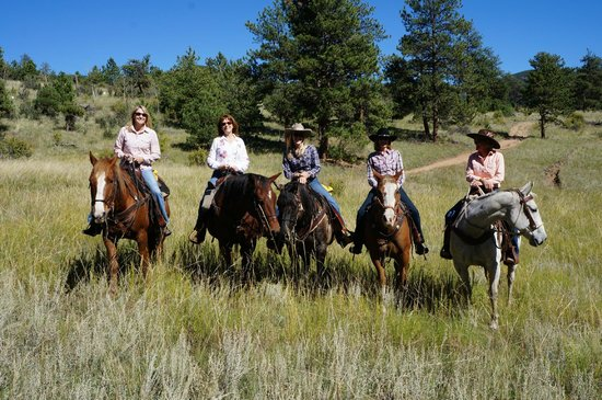 North Fork Ranch: Our ride.