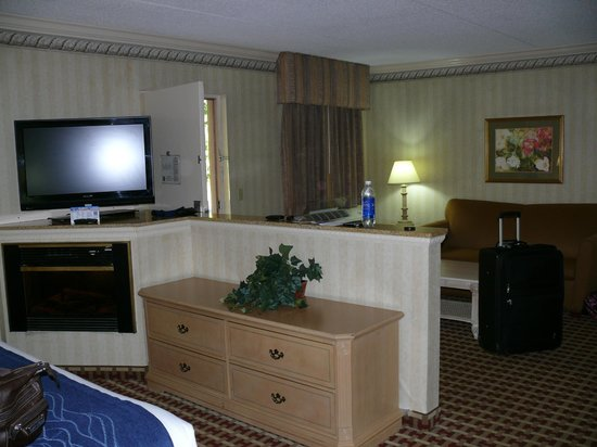 Quality Inn & Suites  Quakertown : lots of space