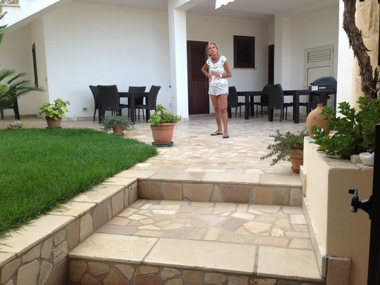 B&B Aurora Salentina: giardino
