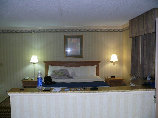 Quality Inn & Suites  Quakertown : bed