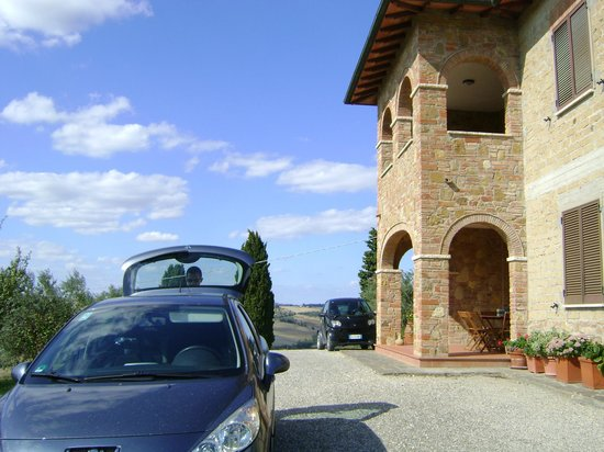 Azienda Agricola Barbi: Side view of the house