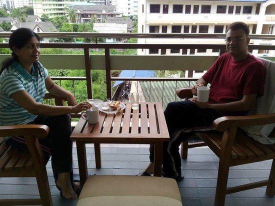 Pattaya Loft Hotel: morning tea