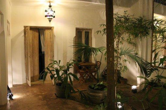 Riad Safa : Entrée de la chambre du Rez de chaussée