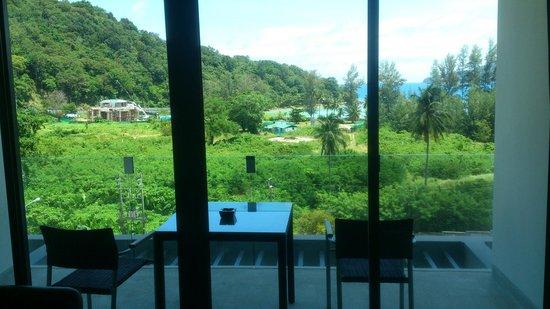 Absolute Twin Sands Resort & Spa : Balcony of studio room