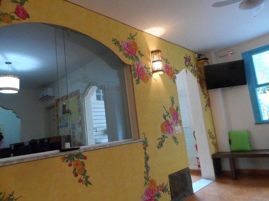 Solar Hostel : Sala/Recepção