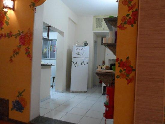Solar Hostel : Cozinha