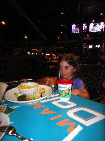 Duffy's Sports Grill: kids menu