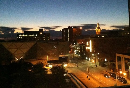Kansas City Marriott Downtown : Beautiful view from my room