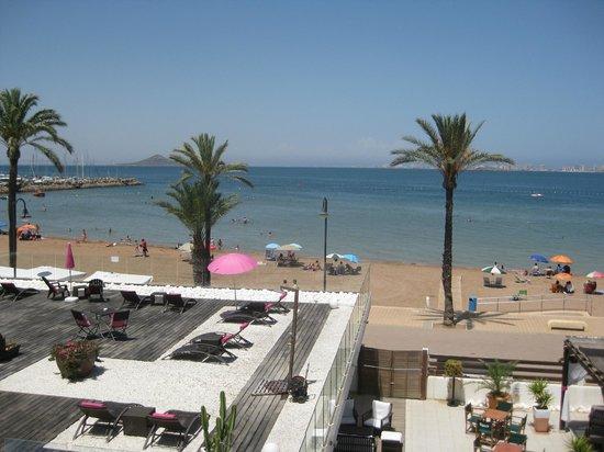 El Secreto del Agua: View facing Mar Menor