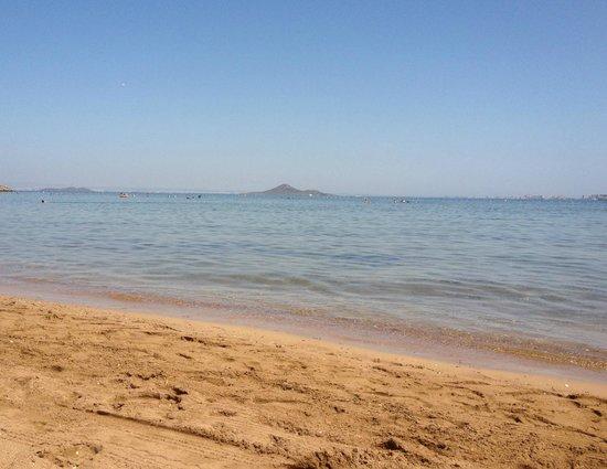 El Secreto del Agua: Beach, Mar Menor