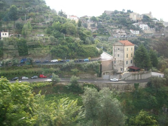 Ravello Rooms: View from the bus ride down from Ravello to Amalfi