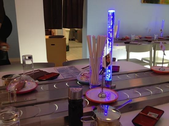 Ryujin Sushi Lounge : le tapis roulant