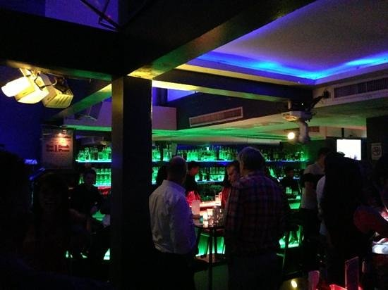 Titanium Bar: main bar