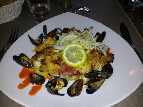 Restaurant Les 3B: Plat de cabillaud