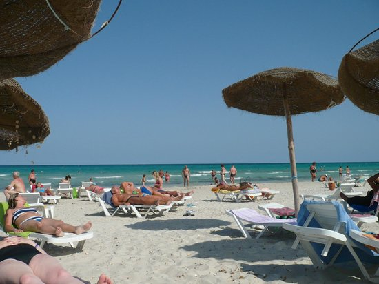Club Thapsus Hotel : Beach