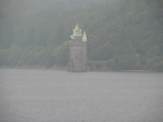 Lake Vyrnwy : View of the tower