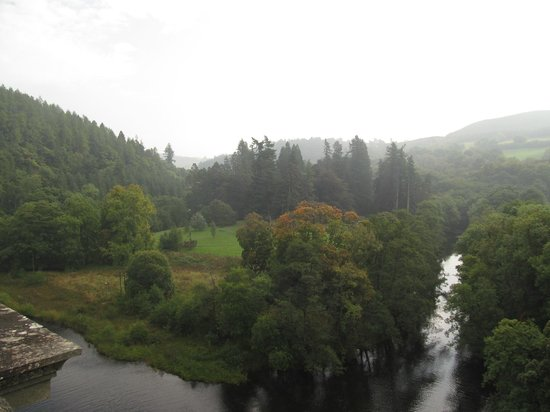Lake Vyrnwy : View from the bridge