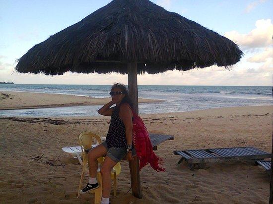 Hotel Porto Dourado: Praia de Taperapuã.