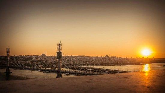 Istanbul Golden City Hotel: Ausblick von der Dachterrasse