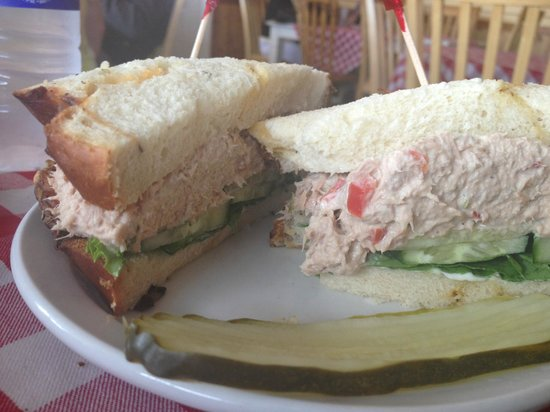The Roost Farm Bakery: Tuna Sandwich