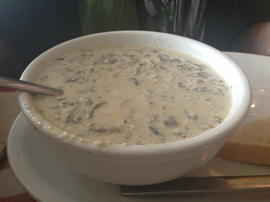 The Roost Farm Bakery: Mushroom Barley Soup