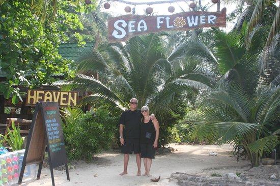 "Seaflower Bungalows: Us in ""Heaven"""