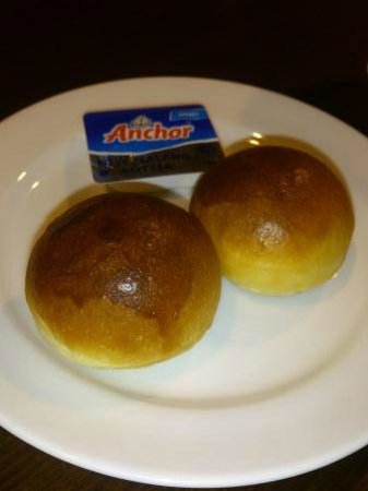 Aston Tanjung Pinang Hotel and Conference Center: Bread for dinner appetizer