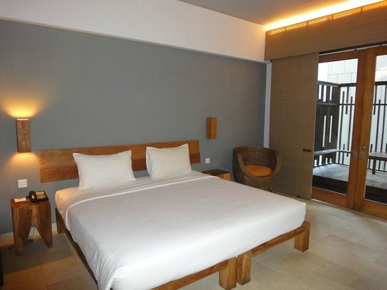 The Oasis Lagoon Sanur : Bett