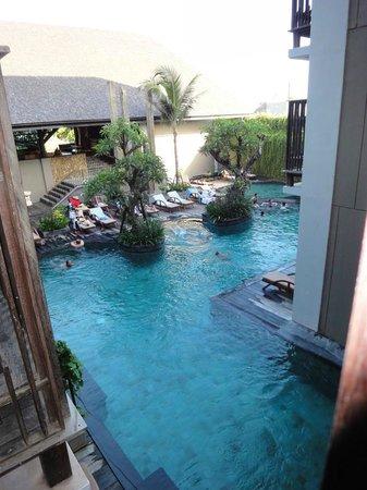 The Oasis Lagoon Sanur : vom Balkon