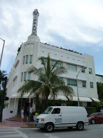 The Hotel of South Beach : Façade de l'hôtel