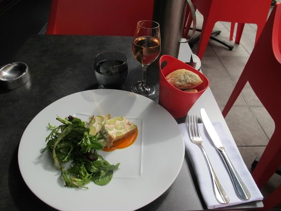 Nice art bistro : Starter Set Lunch Sept 2013