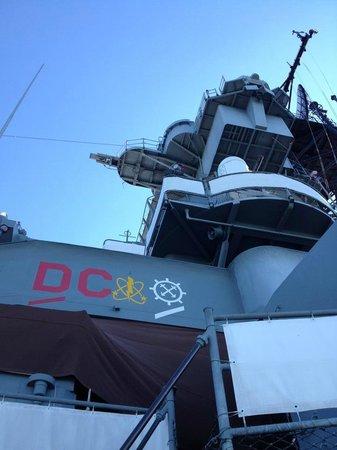 Battleship New Jersey: ship