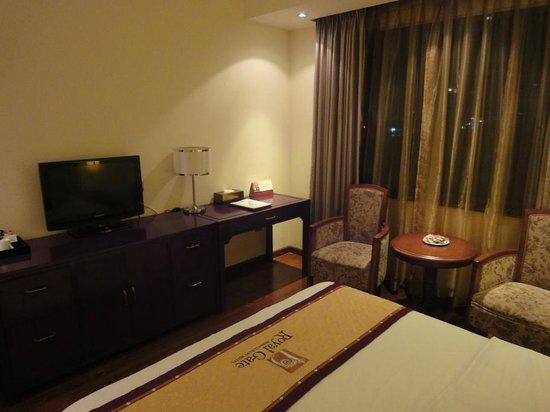 Royal Gate Hotel : vom Bett aus