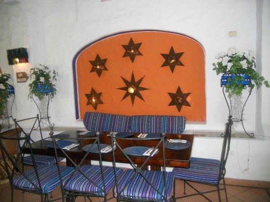 Pancho's Backyard: Table set ups were great!