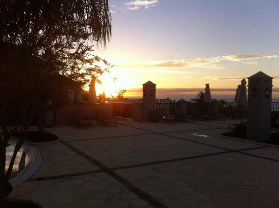 Meliá Hacienda del Conde: Sonnenuntergang