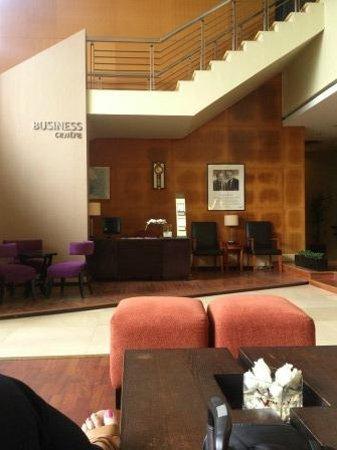 Hotel Ibis Pekanbaru : Business corner