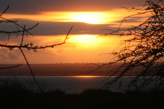 Lake Burunge Tented Camp : Atardecer