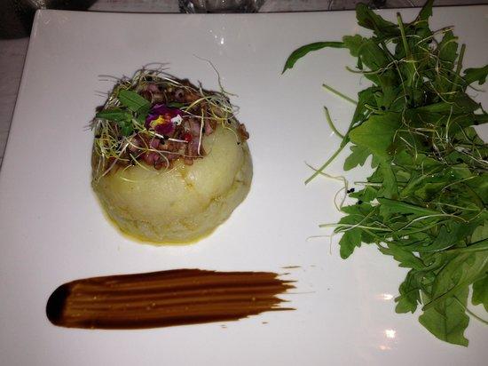 Le Barav : Un chaud froid de foie gras.... Pas mal!!!