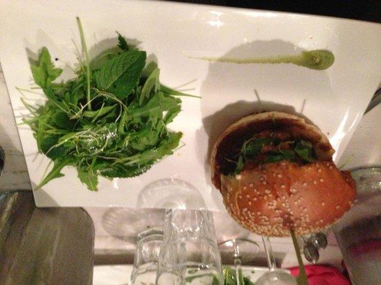 Le Barav : Pas mal le hamburger !!!!