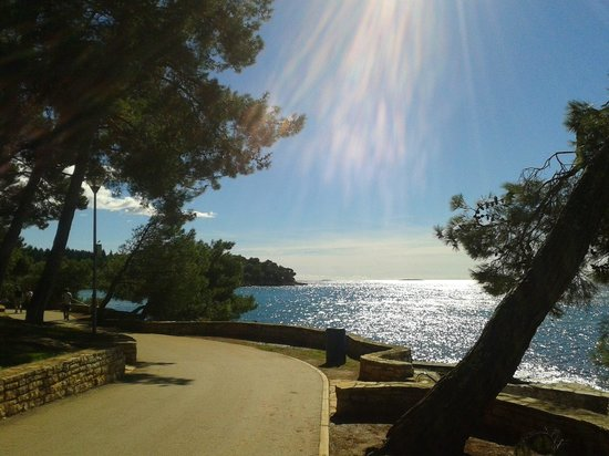 Valamar Crystal : walk to Porec