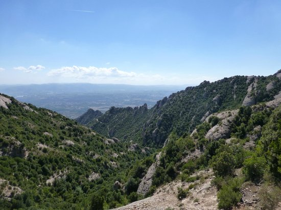 Sant Joan Funicular Railway: View from the top