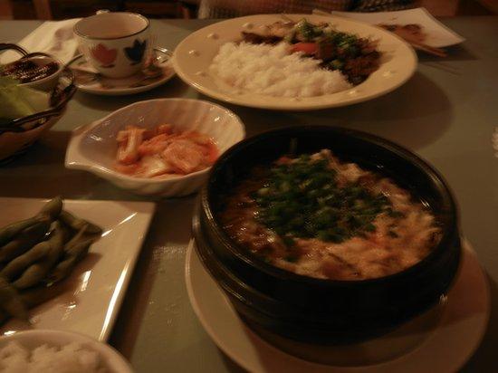 Namul : 韓国料理