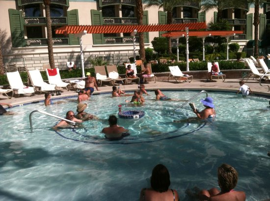 Adults In The Kiddie Pool - Picture Of The Orleans Hotel -9414