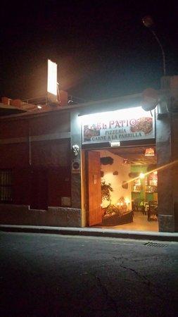 baco divino: Adesso si chiama el patio e si mengia anche meglio