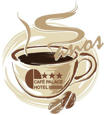 Cafe Palace Hotel: Logo comemorativa de nossos 15 anos
