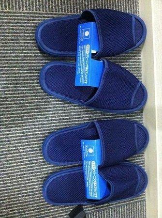 Comfort Hotel Tokyo Kanda: slippers from the Comfort Inn Tokyo Kanda
