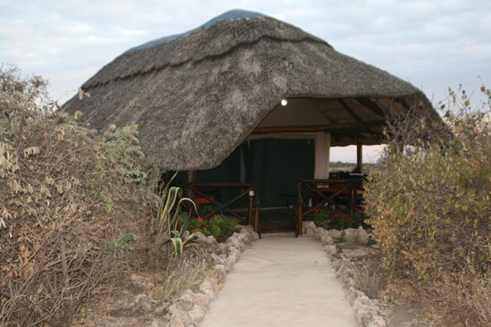 Manyara Wildlife Safari Camp: Exterior