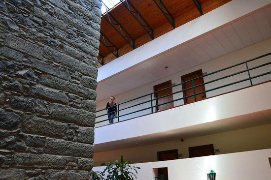 Torre Praia Hotel: atrio delle camere