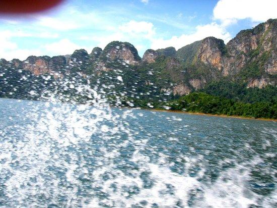 เขื่อนเชี่ยวหลาน (เขื่อนรัชชประภา): On the boat